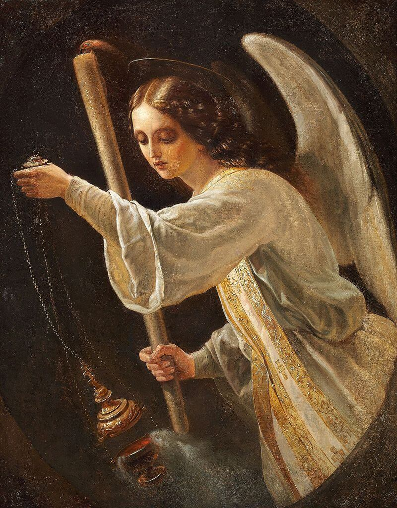 The Angel by Carl Timoleon von Neff