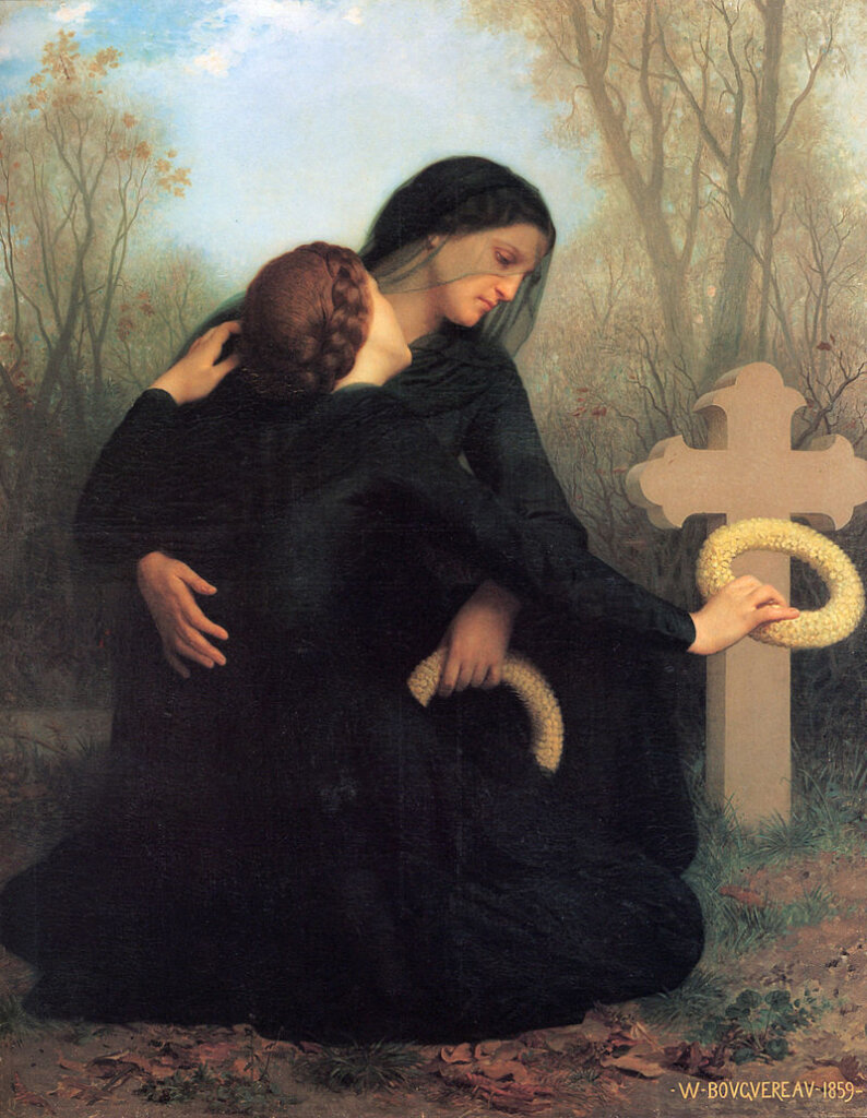 The Day of the Dead by William Adolphe Bouguereau