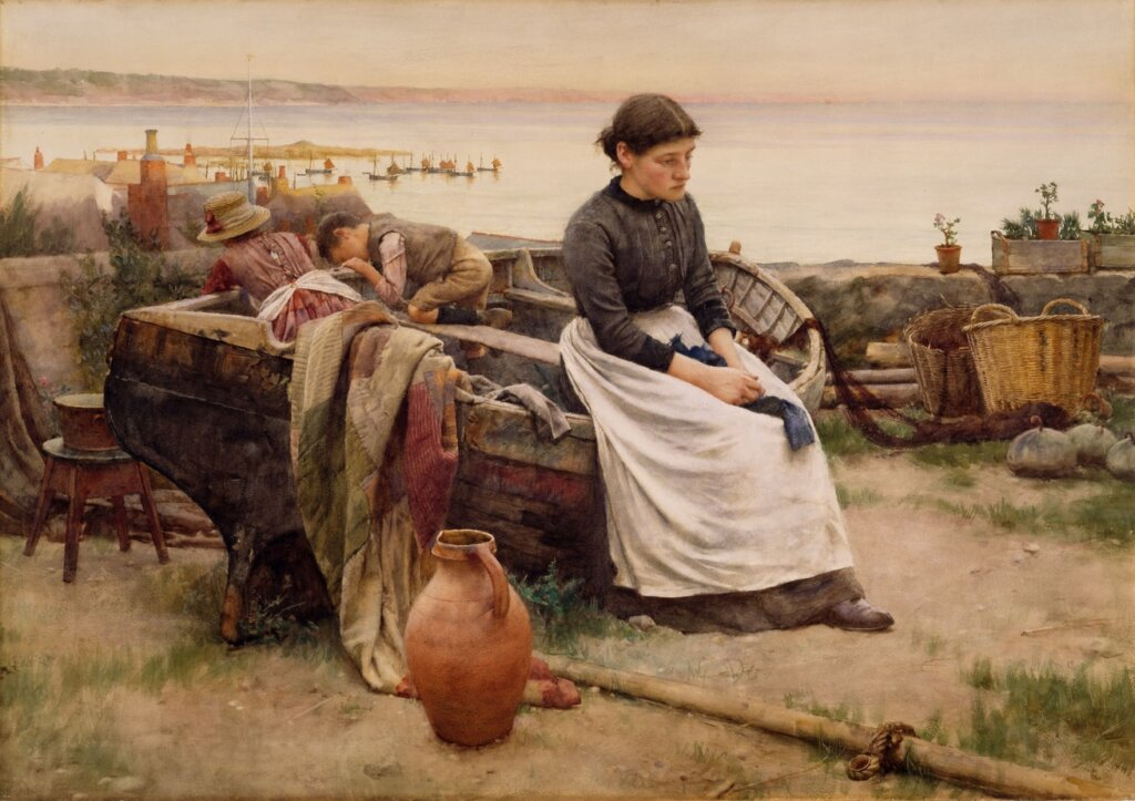 Walter Langley - Touch Of A Vanished Hand