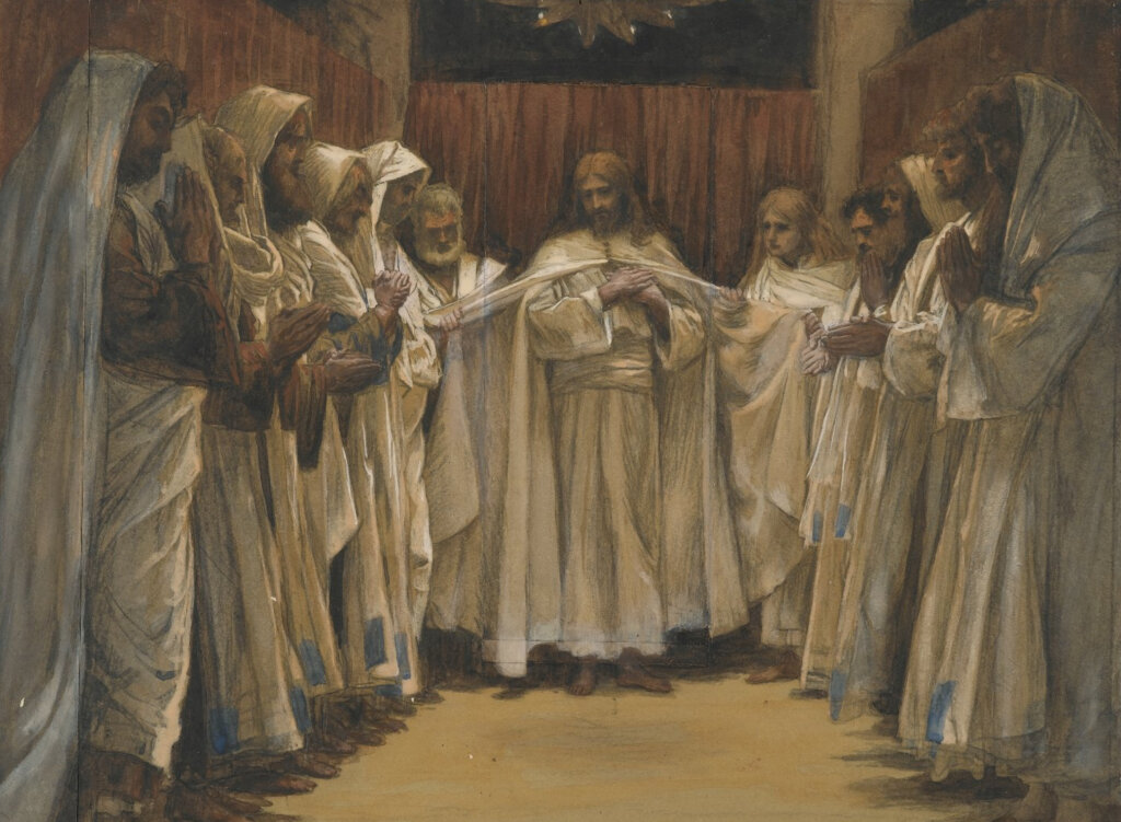 The Last Supper Discourses by James Tissot